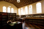 Inside Powell Library's Main Reading Room ---- Photo Credit: Stephanie Diani