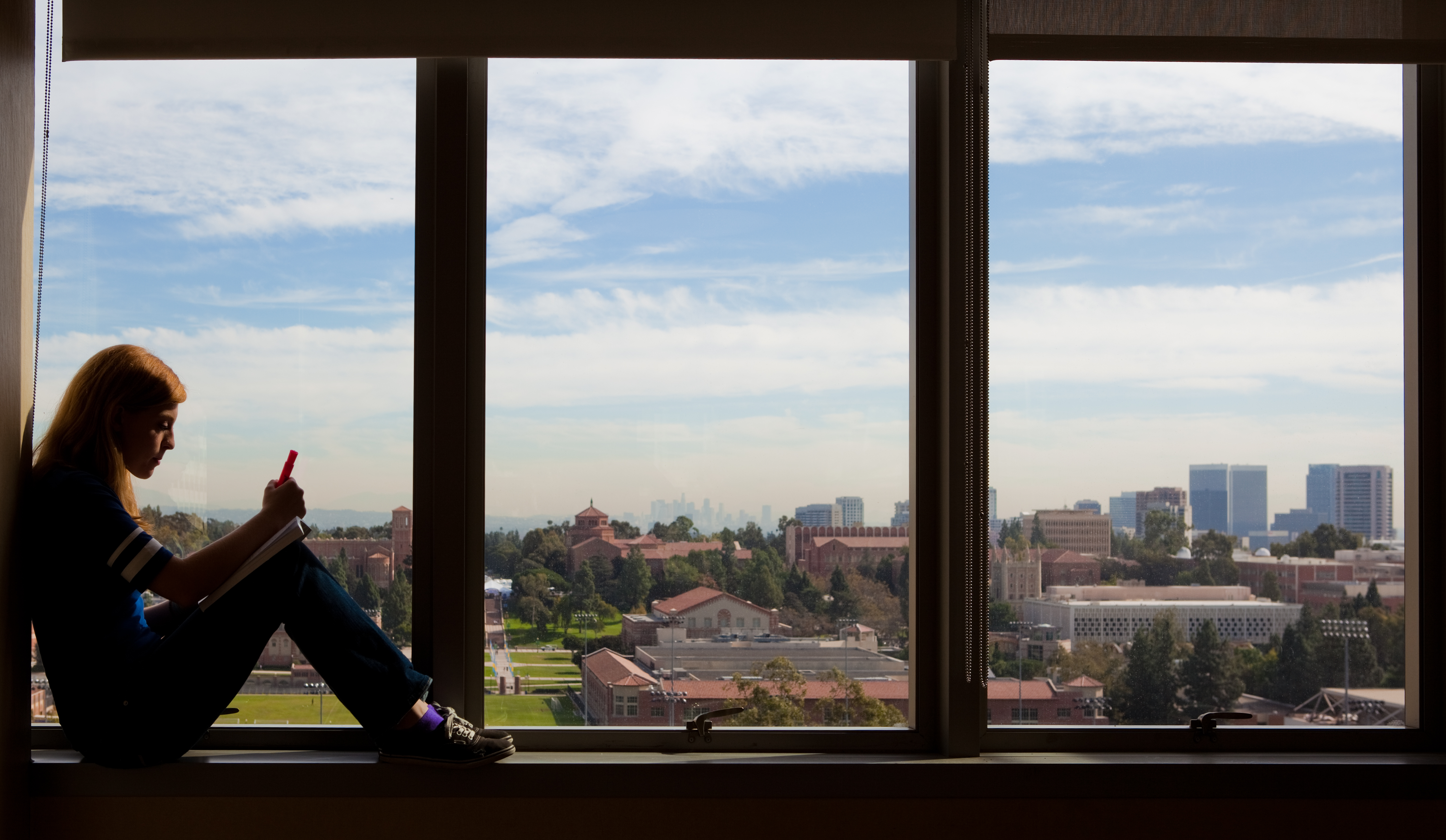 Credit One Apply >> View from Sproul Hall study lounge—Photo Credit: Gavin Holt