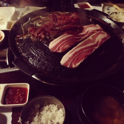 Korean BBQ---Photo Credit: Steven Simons