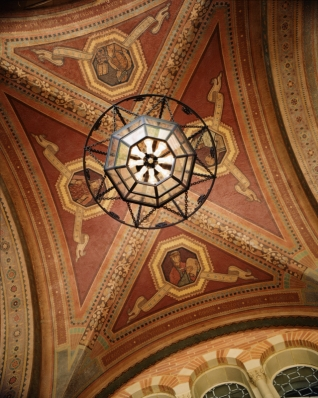 Royce Hall ceiling fresco --- Photo Credit: UCLA Image Library